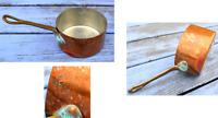 Petite casserole ancienne en cuivre (Vesoul, Art et Cuisine), 8,2 cm de diamètre