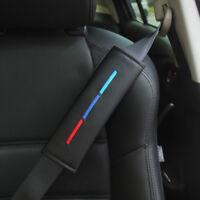 2x BMW /// M Stickerei Auto Sicherheitsgurt Schulterpolster Abdeckungen Kissen