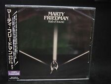 MARTY FRIEDMAN Wall Of Sound + 2 JAPAN CD Megadeth Black Veil Brides Cacophony