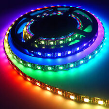 STRISCIA STRIP 300 LED RGB DIGITALE 7 COLORI 5050 5 MT INTERNO IP20 TELECOMANDO
