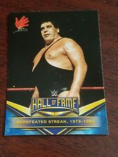 2018 WWE TOPPS ROAD TO WRESTLEMANIA HALL OF FAME INSERT #1