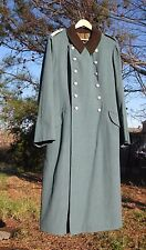WW2 German  Police Officers  wool gaberdine Overcoat sz38 medium