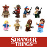 Stranger Things Pack of 8 Mini figures figs Set Custom fits with blocks & lego