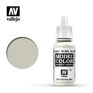 Vallejo Model Color 883 - Silver Grey (70.883) 17ml