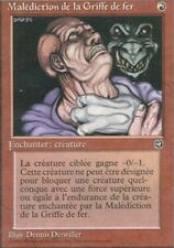 MTG Magic - Terres Natales -  Malédiction de la griffe de fer -  Rare VF