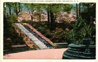 Vintage Postcard - Flower Carpet Stairs Prospect Park Brooklyn New York NY #3477