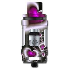 Skin Decal for Smok TFV12 Cloud Beast King Tank Vape Mod / Glowing Hearts Pink