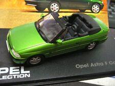 OPEL Astra F Cabriolet green grün 1992 - 1998 Altaya 1:43