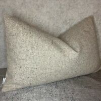 """JOHN LEWIS """"Speckled"""" Cushion Pillow Cover WOOL Mix Fabric Home Interior"""