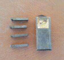 "Ridgid 50715 1/2"" Npt High Speed Steel Mono 500 pipe dies"
