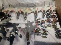 Hasbro gijoe uss flagg battle group 8 ghoststrikers 3 killer whales read below
