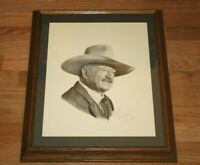 JOHN WAYNE The Shootist Framed Lithograph Daryl Desmond SIGNED Limited 1055/1500
