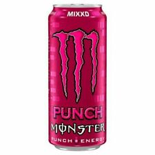 500ml RARE MONSTER ENERGY DRINK PUNCH MIXXD limited edition