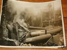 1936 News Photo Chicago Illinois Swift Hydrogen Fire