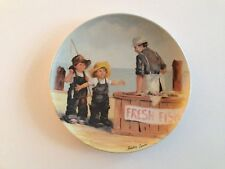 """""""Friends I Remember"""" Knowles First 1st Collector Plate """"Fish Story"""" 1983"""