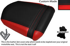 Black&red Custom encaja Hyosung Gt 125 250 Comet 06-10 necesidades Cuero Funda De Asiento