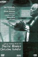 Dvd **CHICAGO SYMPHONY ORCHESTRA • PIERE BOULEZ CHRISTINE SHAFER** nuovo