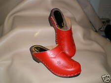 Hand Made Swedish Wooden Clogs