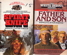Complete Set Series - Lot of 24 White Indian Historical by Donald Clayton Porter