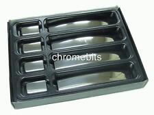 Chrome 4 Couvre Poignée Portière Acier pour Nissan Navara 2006+