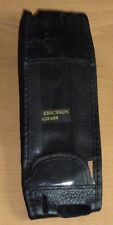 Sony Ericsson 628 688 Black Leather Mobile Phone Cover