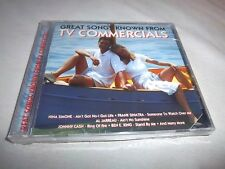 GREAT SONGS/TV COMMERCIALS-NINA SIMONE/JOHNNY CASH/SHERELLES/ETC...NEW SEALED CD