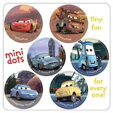 Cars Stickers - 48 Dots - 8 Sheets - Reward Chart - Birthday - Lightning McQueen