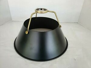 Classic Metal Lampshade Black And Aged Brass Lamp Pendant Shade