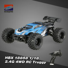 HBX 1/18 18858 2.4GHz 4WD High Speed Electric Car Off-road RC Buggy Racing F2G1
