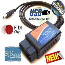 OBD2 CAN 327 Diagnose Interface V1.4  für PEUGEOT BMW Opel Mercedes usw. +++