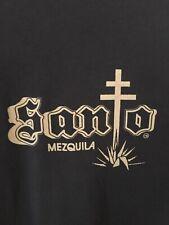 Santo Mezquila Puro T-Shirt Black Size L Sammy Hagar/Adam Levine Collab. Spirit