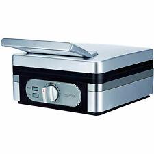 Gofrera profesional eléctrica 2 gofres belgas termostato regulable MPM MGO-13