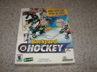 Backyard Hockey (PC, 2002) New and Sealed in Big Box Mike Modano Version
