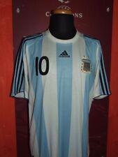 MESSI ARGENTINA 2008 MAGLIA SHIRT CALCIO FOOTBALL MAILLOT JERSEY CAMISETA XL