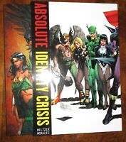 Absolute Identity Crisis Slipcase Meltzer Morales Great shape DC Hardcover 2011