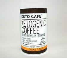 Keto Cafe Ketogenic Coffee Energy/Metabolism/ Brain Power Original Flavor MCT