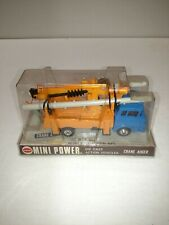 COX MINI POWER DIECAST CRANE AUGER SCALE 1/60 IN PACKAGE 4235