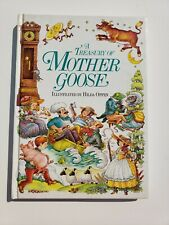 A Treasury of Mother Goose Rhymes by Linda Yeatman (1984, Picture Book)
