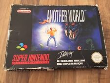 Super Nes:   ANOTHER WORLD      PAL