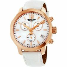 Tissot Quickster Ladies Chronograph Quartz Watch - T0954173611700 NEW