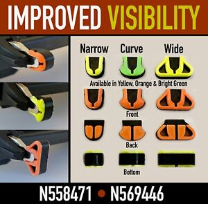 6 to 21 PACKS - Nose cushions no mar tip for Dewalt 20v Nailers DCN680 DCN681
