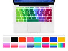 "Silicone EU Keyboard Cover Skin For Mac Pro 13 A1708 and For mac Retina12"" A1534"