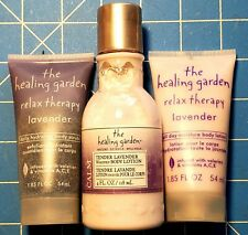 The Healing Garden Tender Lavender Body Lotions, 1.85, 4oz. & 1.85oz. Body Scrub