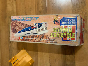 Evel Knievel Canyon Sky Cycle With Box