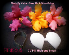Hibiscus Small Cutter & Veiner Cake Decorating Sugar Flower Gum Paste Tools