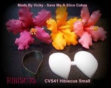 Hibiscus Small Cutter & Veiner Cake Decorating Sugar Flower Gum Paste Tools