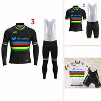 2019  Ropa Equipacion Ciclista Ciclismo Maillot+Culotte Pantalones Conjunto