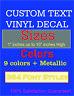 Custom Vinyl Lettering Wall Decal Text Vinyl Custom Stickers. Personalized Art