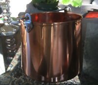 Russian Copper Bucket ( Can Serve As Wine Chiller)