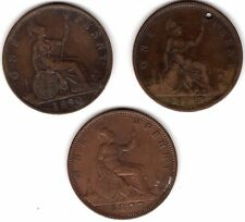Selection Of Victoria One Penny Coins***Collectors***(V3)